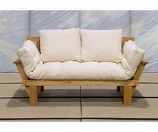 divano futon divano letto in legno artigianale con futon sesamo 2