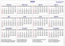Us Calendars 2020 Calendar Printable Calendar 2020 Calendar In