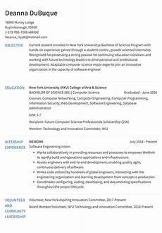 Resume Examples Experience Internship Resume Example Resume Com