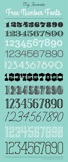Fonts For Numbers My Favorite Free Number Fonts