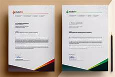 Sample Letter Head Template Creative Letterhead Template Corporate Identity Template