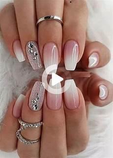 nageldesign natur verlauf trending bridal nail design ideas bridal inspiration