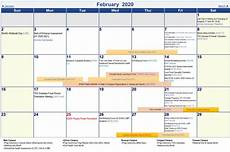 february 2020 calendar events university academic calendar a y 2019 2020