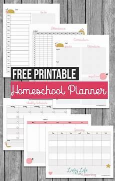 Free Printable School Planner Free Printable Homeschool Planner