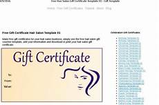 Hair Salon Gift Certificate Template Free Certificate Template Download Free Amp Premium Templates