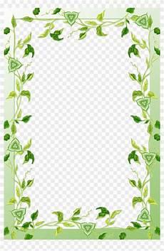 Green Border Design Green Leaves Border Png Mango Leaf Design Borders