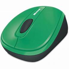 Microsoft Mouse Green Light Microsoft Wireless Mobile Mouse 3500 Green Gmf00174 B Amp H