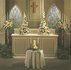 pictures of church wedding decorations