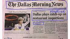 News Article Examples Parts Of A Newspaper Youtube