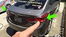 Hyundai Elantra Light Removal Hyundai Elantra Light Removal Replacement 2011 2016