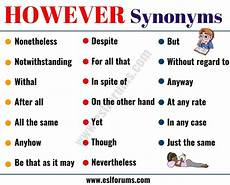 Other Words For Janitor However Synonym 23 Useful Words To Use Instead Of However