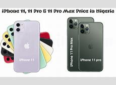 iPhone 11 Pro Max Price in Nigeria {Jumia & Slot}   NaijNaira