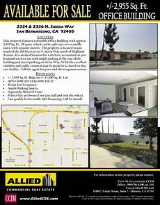 Commercial Flyers Sample Property Flyers Tools Resources Allied