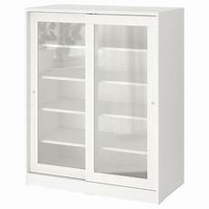 syvde white cabinet with glass doors ikea