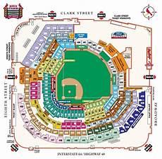Cardinals Football Stadium Seating Chart Breakdown Of The Busch Stadium Seating Chart St Louis