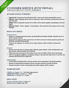 Example Of Customer Service Resumes Customer Service Resume Samples Amp Writing Guide