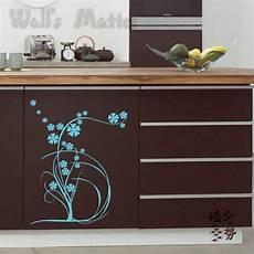 vinyl plant flower kitchen cabinet decals all match