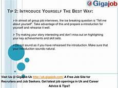 How To Introduce Yourself In An Interview Top 5 Group Job Interview Tips