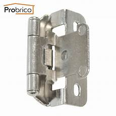 probrico self kitchen cabinet hinge brushed nickel