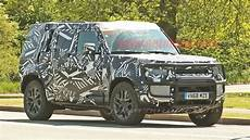 new land rover 2020 2020 land rover defender hybrid spied with a winch autoblog