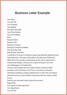 Simple Business Letter Example Of Simple Business Letter Template Pdf Amp Word