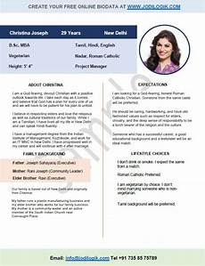 Biodata Format For Marriage Biodata Format For Marriage 15 Templates 7 Samples