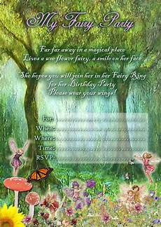 Fairy Party Invites Free Kids Party Invitations Fairy Party Invitation