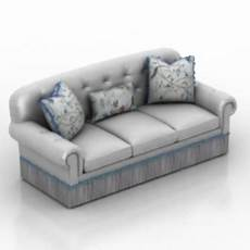 Small Chaise Sofa 3d Image by Chaise Sofa Furniture Free 3d Model 3ds Max