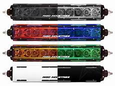 Colored Light Bar Covers Rigid Industries Sr Series Light Covers 19091
