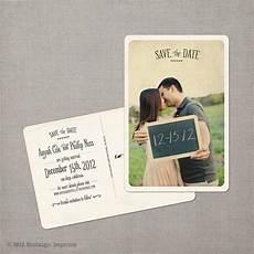 Save The Date Postcard Vintage Save The Dates Emmaline Bride Wedding Blog
