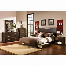 South Shore Bedroom Set South Shore Infinity Platform Customizable Bedroom