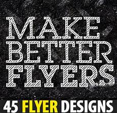 How To Make Cool Flyers Flyer Designs 45 Stunning Design For Inspiration