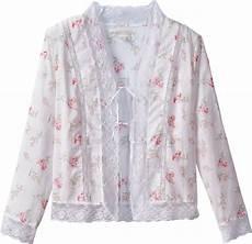 eileen west morning meadow bed jacket sleepwear
