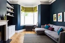 farrow ball hague blue living room contemporary with white