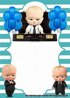 Baby Birthday Invitation Templates Free Boss Baby Invitation Templates For Baby Shower Free