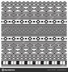 Indianische Muster Malvorlagen Auf Amerikanische Indianer Stammesstruktur Nahtloses Muster