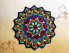 my overlay crochet mandala danielasneedleart