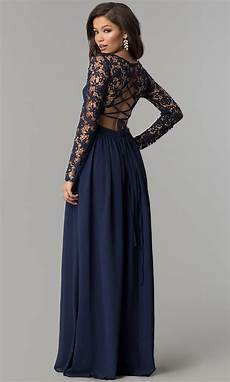 sleeve homecoming dresses chiffon and lace sleeve prom dress promgirl