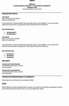 Example Of A Simple Job Resume Fresh Jobs And Free Resume Samples For Jobs Simple Resume