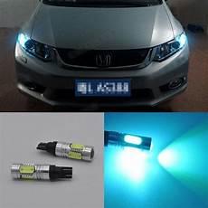 Honda Civic Light Bulb T10 2x Projector Ice Blue Led Parking Position Light Bulb