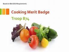 Cooking Merit Badge Powerpoint Cooking Merit Badge Presentation Troop 874