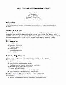 How To Make A Beginner Resume Beginner Marketing Resume Resume Examples