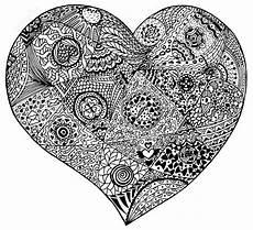 Ausmalbilder Erwachsene Herz Herz Ausmalbilder F 252 R Erwachsene Kostenlos Zum Ausdrucken 6