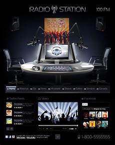 Radio Station Template Radio Station Html5 Website Template Free Tonytemplates Blog