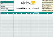 Home Contents Inventory 21 Free Household Inventory List Templates Ms Office