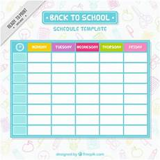 Cute Class Schedule Maker Cute Class Schedule Maker Planner Template Free