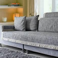 japan style chic grey sofa cover sofa cushion cotton linen