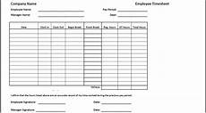 Time In Time Out Sheet Timesheet Templates Find Word Templates