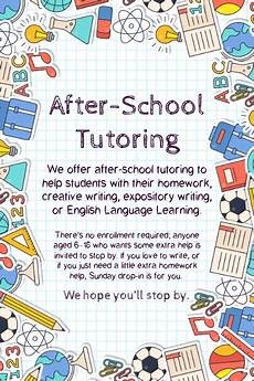Tutoring Advertisement School Tutoring Advertisement Flyer Template Postermywall