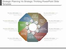 Strategic Planning Powerpoint Template Strategic Planning Vs Strategic Thinking Powerpoint Slide
